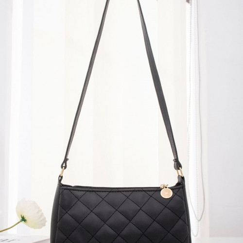 Quilted Baguette Bag