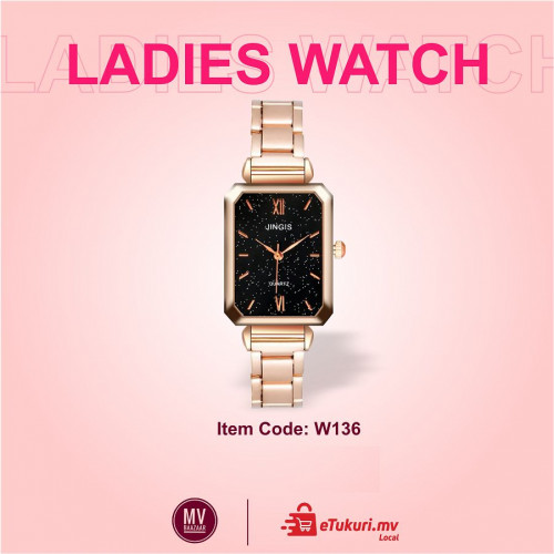 Ladies Wrist Watch Time piece Fashion Women Rose Gold Quartz watches Elegant Clock Gift Suprise girl Love luxury womens