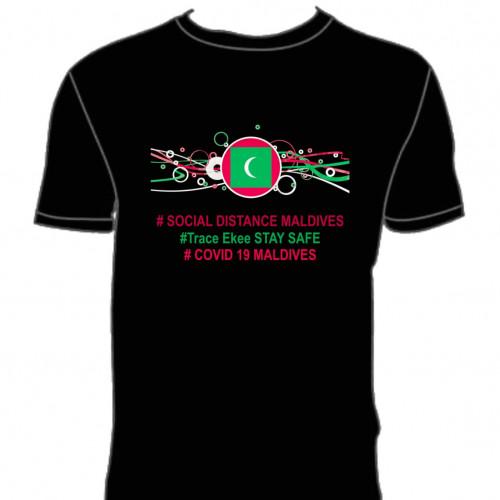 Covid T. Shirt # 139 Black 100% Cotton T Shirt