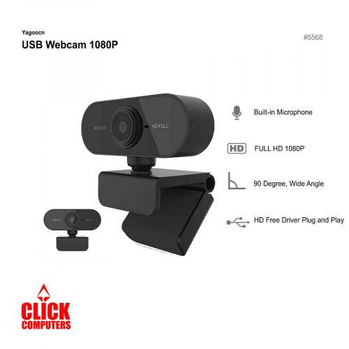 Full HD 4K 8MP LED Ring Light USB Webcam A875 1080P
