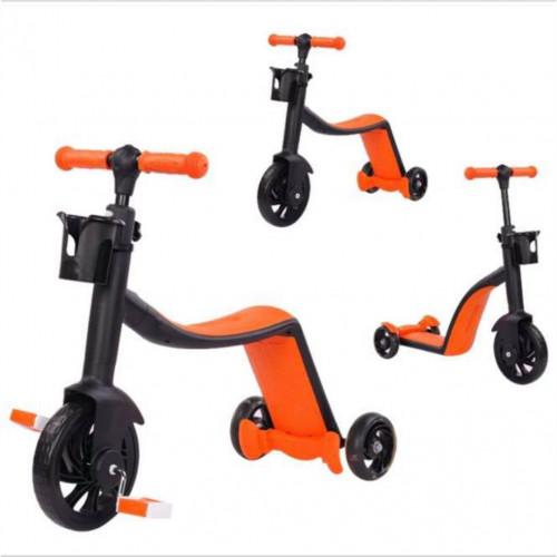 3 in 1 Kids Scooter (Orange)