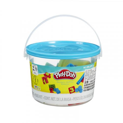 Play Doh Numbers Mini Bucket