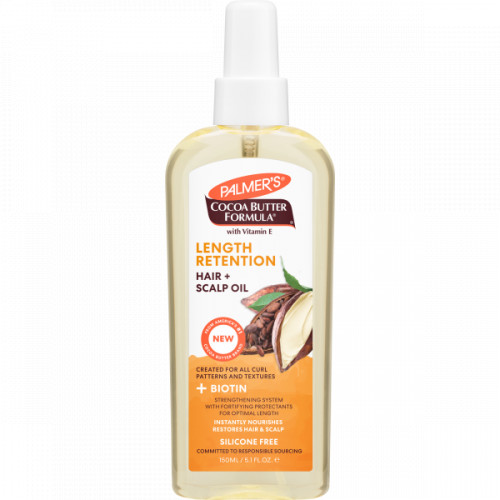 Palmers Cocoa Butter + Biotin Retention Hair & Scalp Oil