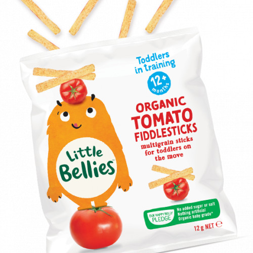 Little Bellies Organic Tomato Fiddlesticks (12g) - 12+ months