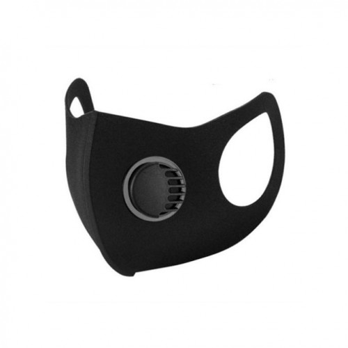 904 - Black Laser Cut Filter Mask