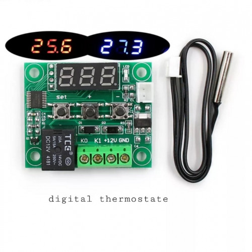 W1209 -50-100C DC 12V digital temperature controllear thermostat temperature control thermostat switch