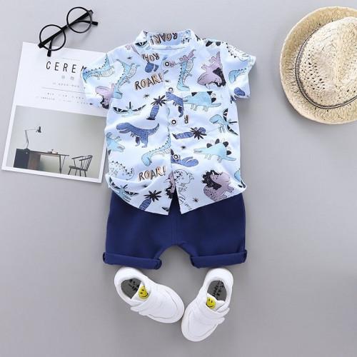 Baby Polo Shirt & Pants Set