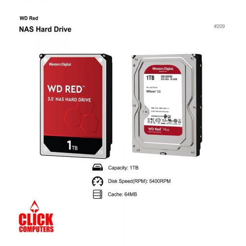 Western Digital WD RED (1TB,Internal , 5400RPM 3.5)