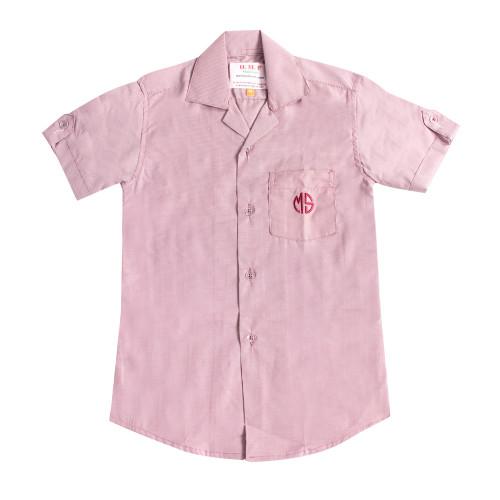 Muhyiddin  Girls Uniform Shirt -S/S