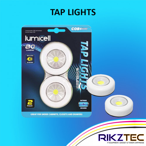 Lumicell Tap Lights (2 Pack)