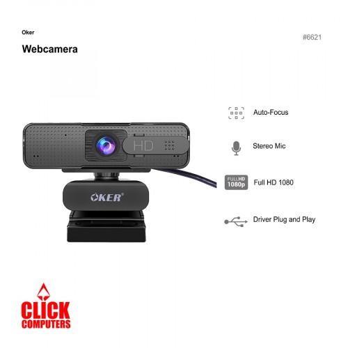 Oker Auto Focus HD Webcam HD869