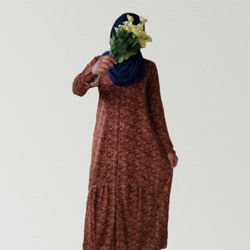 Stripe, polka, plaid, floral printed Maxi dresses / Abayas