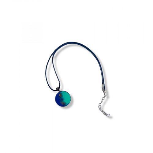 Epoxy Glitter Necklace