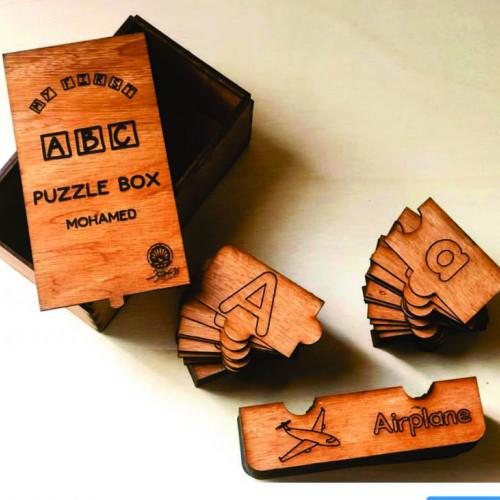 ABC Puzzle (Colourless)
