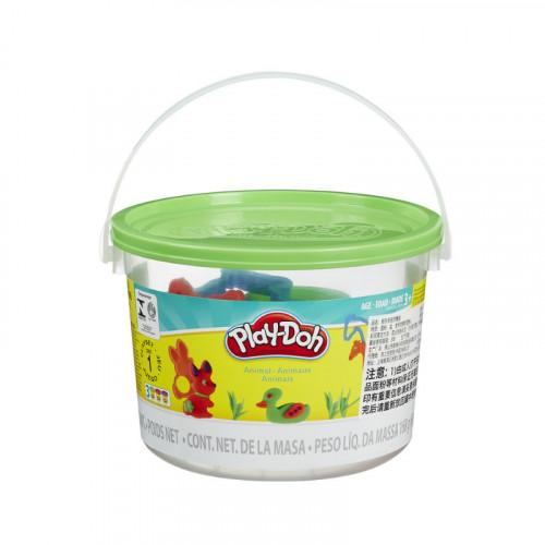 Play Doh Animals Mini Bucket
