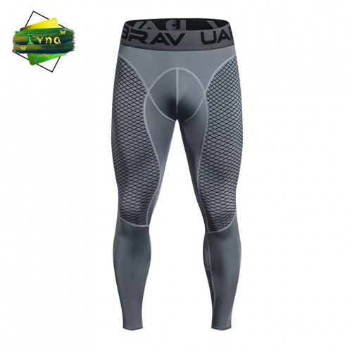 Men's Tights Sports Pants Fitness Leggings Men's Running Pants Striped Pants Breathable Quick-drying Trousers