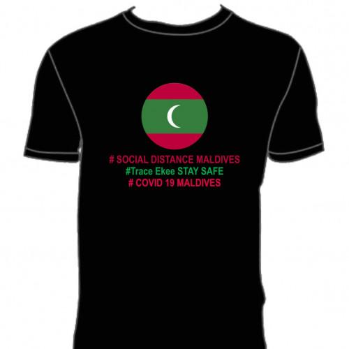 Covid T. Shirt # 132 Black 100% Cotton T Shirt