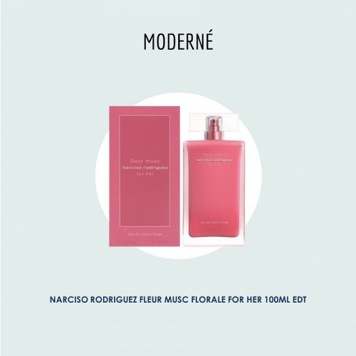 Narciso Rodriguez Fleur Musc Florale for her 100ml EDT