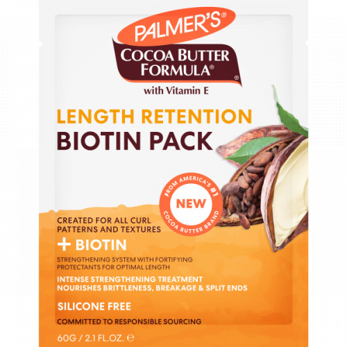 Palmers Cocoa Butter + Biotin Length Retention Biotin Pack