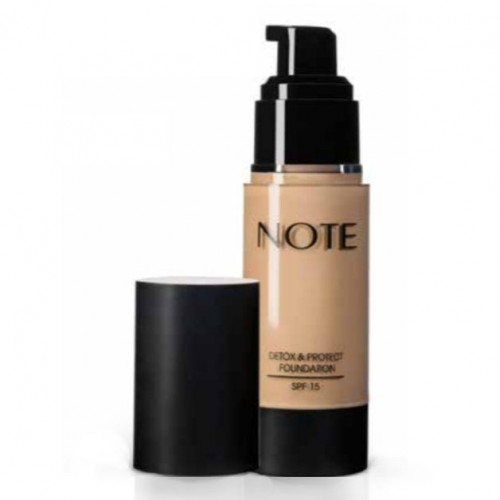 NOTE Brand Detox and Protect foundation