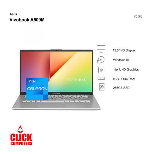 ASUS VIVOBOOK A509M-ABR426T (4GB DDR4,256GB SSD,15.6HD)
