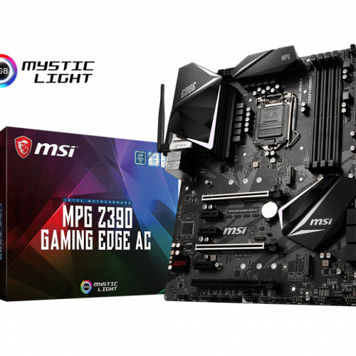 MSI MPG Z390 GAMING EDGE WI-FI MOTHERBOARD