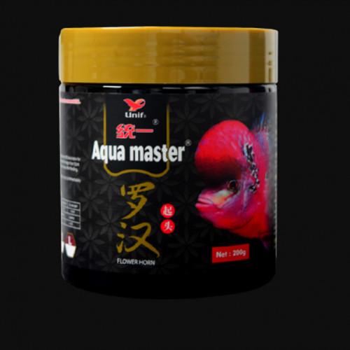 Aqua Master Fish Food Flower Horn 200 Grm