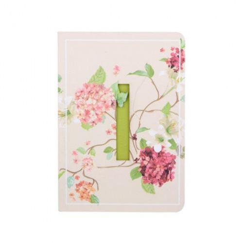 Letter I Initial Floral Monogram Notebook