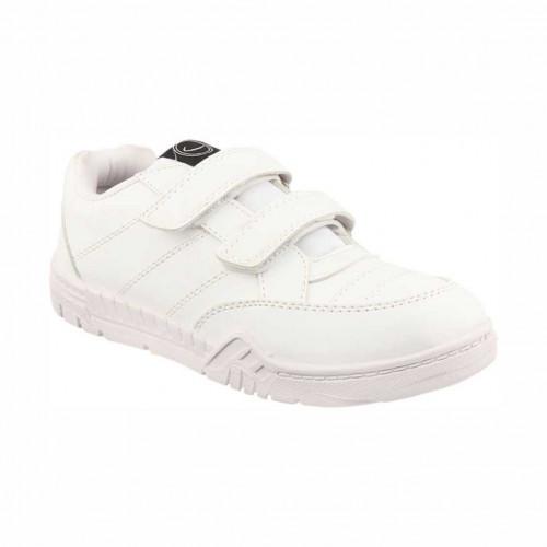 Hitcolus Welcro  - White School Shoes - Regular Size (GOLA)