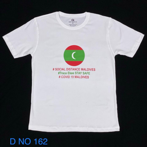 Covid T. Shirt # 132 White 100% Cotton T Shirt