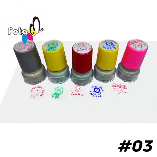 Customized Self inking Stamp set #03