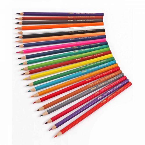 Wooden Coloring Pencils 24 Pieces
