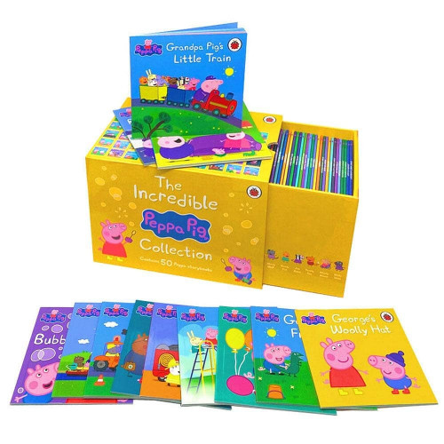 THE INCREDIBLE PEPPA PIG COLLECTION (50 books)