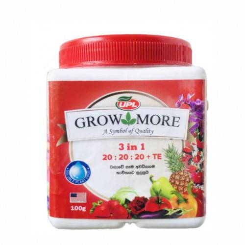 Grow More 3 in 1 20:20:20+TE All Purpose