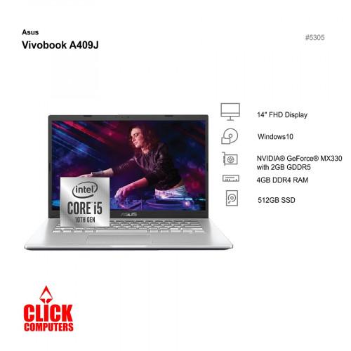 "ASUS VIVOBOOK A409J (14"",4GB DDR4,512GB SSD)"
