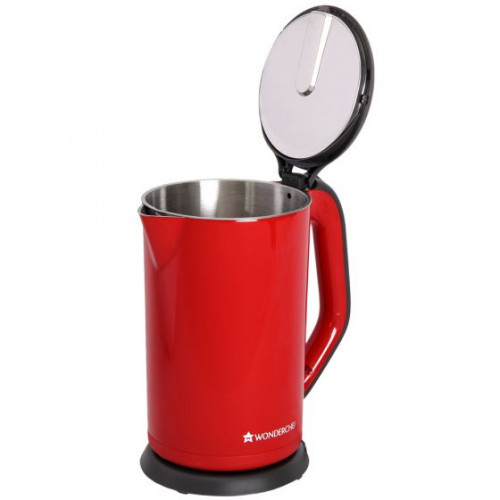 Wonderchef Luxe Electric Kettle Red 1.7L @badhigestore