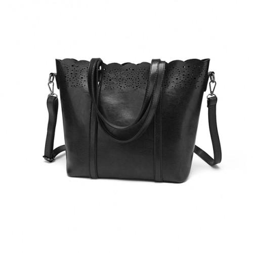 Black handbag tote bag
