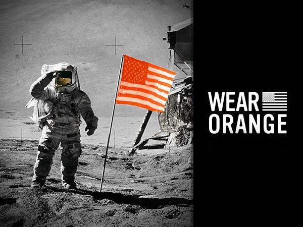 Orange Moon Landing