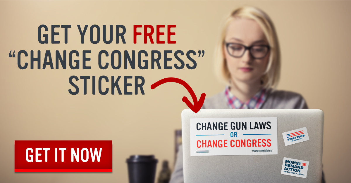 "Get Your Free ""Change Congress"" Sticker"