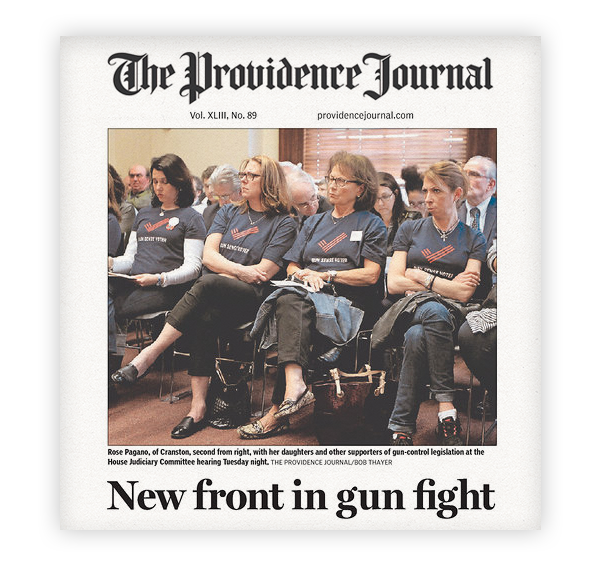 Providence Journal Front Page