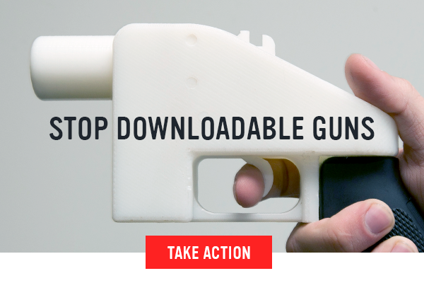 SEND A MESSAGE TO THE STATE DEPARTMENT: TELL THEM TO STOP THE DISTRIBUTION OF DOWNLOADABLE GUNS