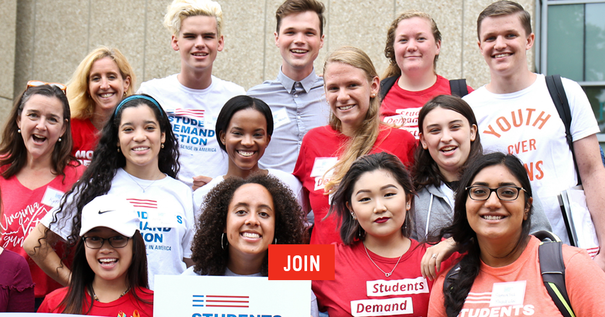 Join Students Demand Action | Everytown for Gun Safety