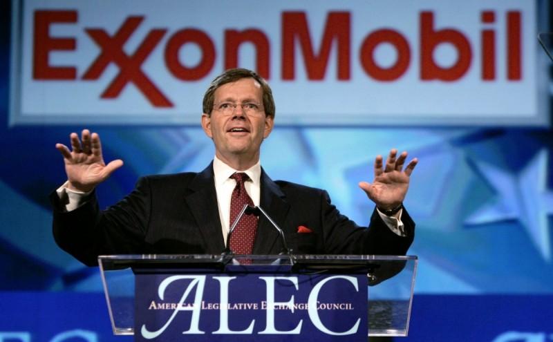 ExxonMobil: Drop ALEC | Oil Change International