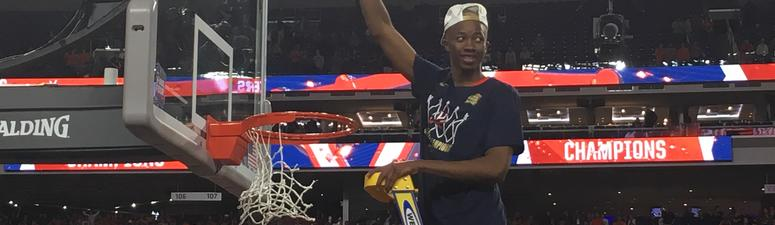 VIDEO: Watch UVA watch one shining moment together