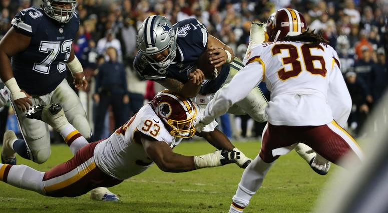 LISTEN: Hoffman impressed with play of Allen and Payne for Redskins
