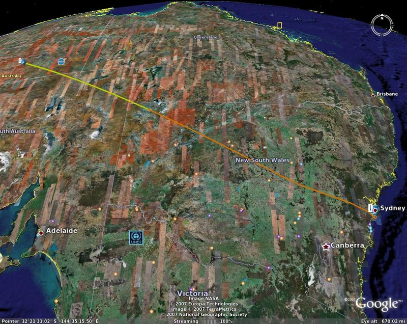 Alice Springs Flight