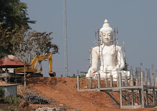 Building a new Buddha