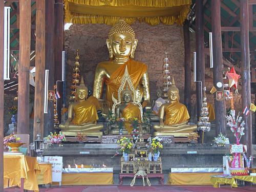 Very old Buddha