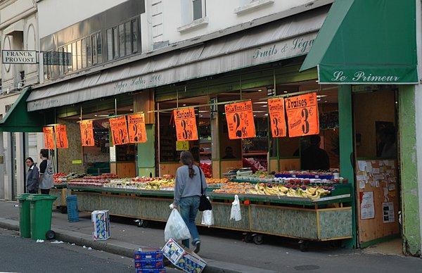 short essay on vegetable market
