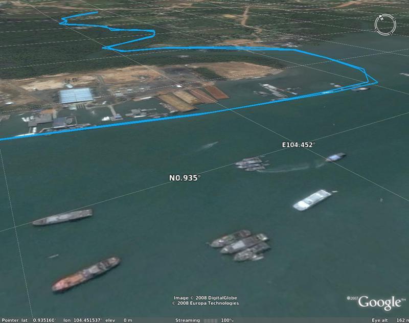 feb 16 2008 bintan snake river ships